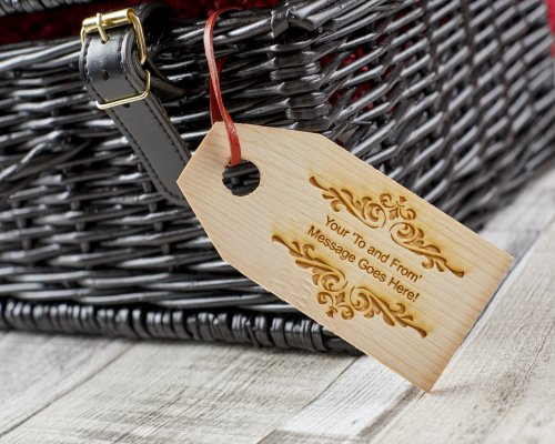PERSONALISED REAL WOOD GIFT TAG